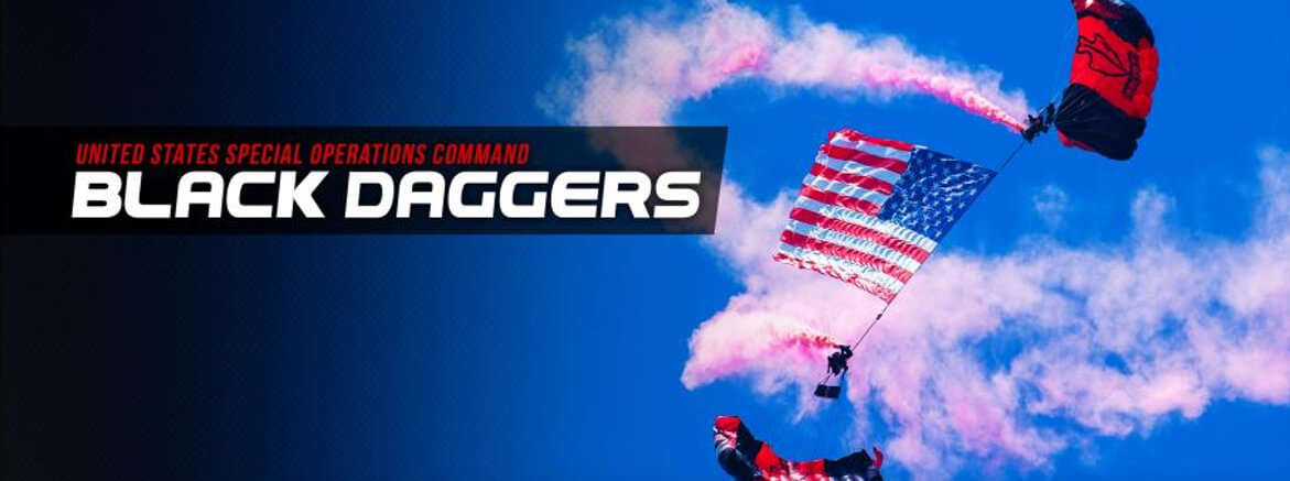Black Daggers Parachute Demo Team