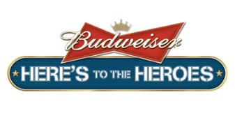 Budwiser Here's to our Heroes