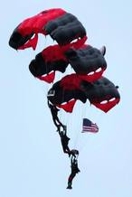 US Army Black Daggers Parachute Team