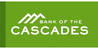 Bank of the Cascades